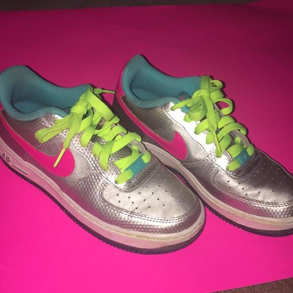 Nike Shoes Girls Air Force 1 Sneakers Poshmark